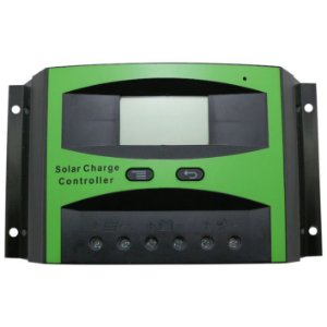 Controlador De Carga 40A - PWM - 12v/24v - LCD