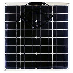 Painel Solar Flexível Monocristalino 50W 12v M-SI