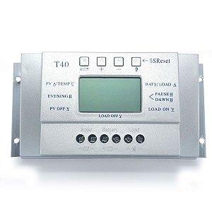 Controlador de Carga Solar 40A 12V/24V MPPT SunYoba