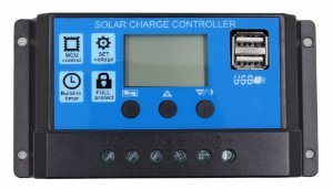 Controlador De Carga 30A - PWM - 12v/24v - Ysmart Tech
