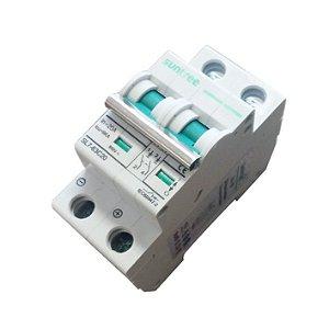 Disjuntor Bipolar 20A 800 VDC - Suntree