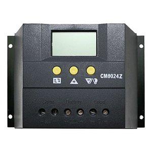 Controlador De Carga 80A - PWM - 12v/24v - LCD