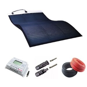 KIT Painel Solar Flexível 500W MiaSolé