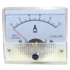 Amperímetro Analógico 10A DC SolarPro