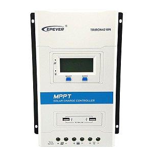 Controlador de Carga Solar 40A 12V/24V MPPT TRIRON Epever 4210N