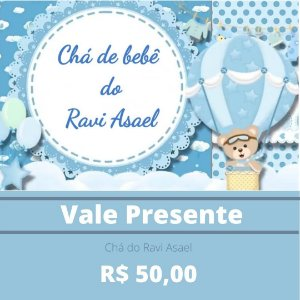 Chá do Ravi Asael - Pais Emanoel e Priscila