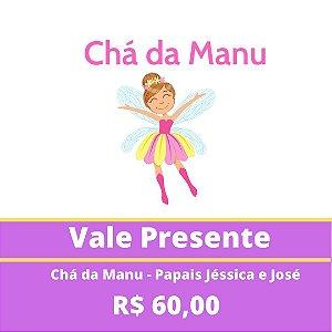 Chá da Manu - Papais Jéssica e José