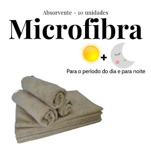 Kit Absorventes de Microfibra | 10 unidades