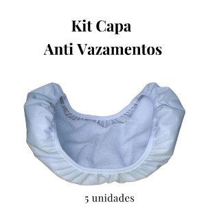 Kit Capa Anti Vazamentos para Absorventes