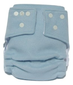 Fralda Ecológica Noturna Azul Bebê