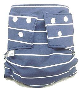 Fralda de Piscina - Azul listrada