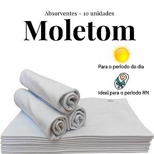 Kit Absorventes de Moletom |10 unidades