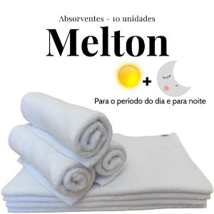 Kit Absorventes de Melton | 10 unidades