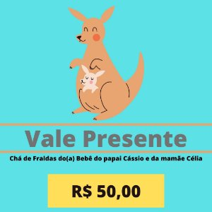 Chá de Fraldas do(a) Bebê do papai Cássio e da mamãe Célia