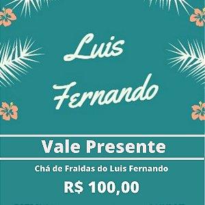 Chá de Fraldas do Luis Fernando