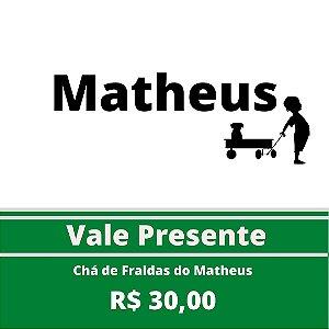 Chá de Fraldas do Matheus