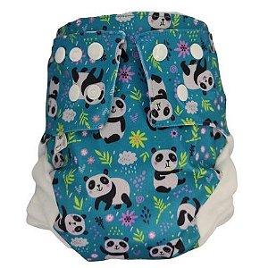 Fralda Ecológica em PUL Pandas A.I.
