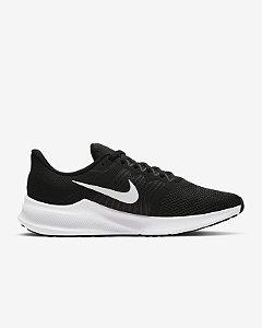Tênis Nike Downshifter 11 Feminino - Preto+Branco