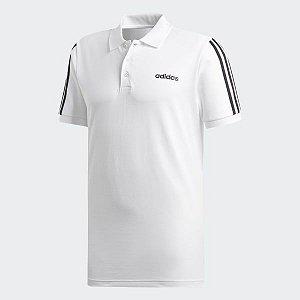 Adidas Camisa Polo 3-Stripes Branca