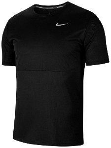 Camiseta Nike M Nk Breathe Run To Preta