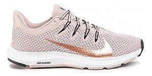 Tênis Nike Quest 2 Rosa Dourado Senhora Corrida Ci3803-200