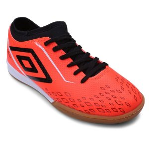Chuteira Futsal Umbro Velox IN - Laranja