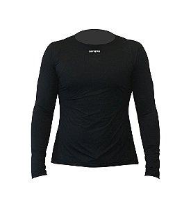 Camisa Proteção UV 50+ Adulto Manga Longa - Carreiro (Azul marinho, Cinza, Preta)