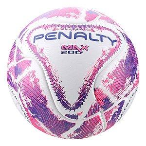 Bola Futsal Penalty Max 200 IX - Branco e Rosa