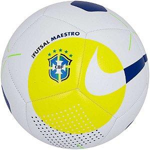 Bola de Futsal da Seleção Brasileira Nike Maestro