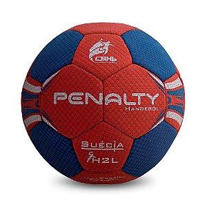 Bola Handebol Penalty H2l Suécia Ultra Grip C/C Feminina - Vermelho e Azul