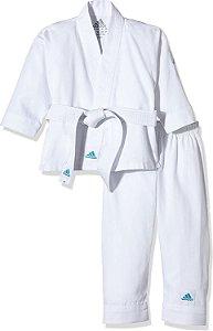 Kimono Karate Adidas Infantil Adistart - Branco