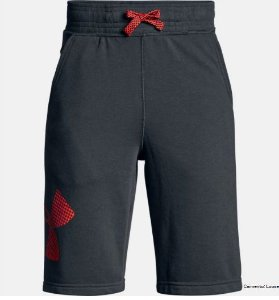 Shorts de Treino Infantil Masculino Under Armour Graphic Fleece