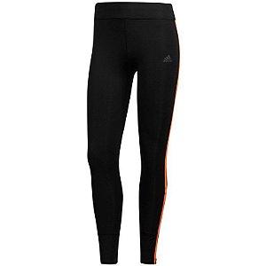 Calças compridas adidas Women's Response 2018 - preto / laranja de alta resolução CF6238