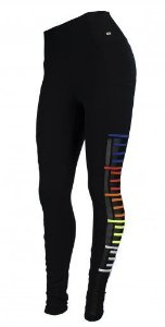 Legging Suplex Alto Giro Colors Preto