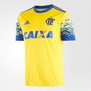 Camisa Original Flamengo adidas Amarela Iii 2017 2018