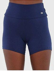 Short Alto Giro Logo Azul-Marinho