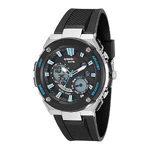 Relógio Speedo Masculino Ref: 81176g0evnp1 Esportivo Anadigi