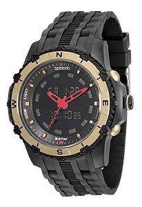 Relógio Speedo 81138G0EVNP1 Preto/Dourado