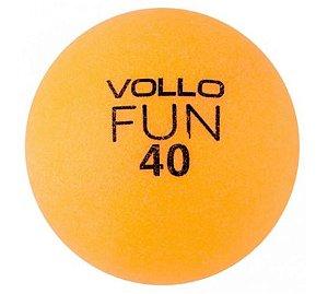 Bola Tênis de Mesa Vollo VT609 Laranja (Unidade)