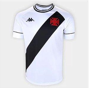 Camisa Vasco II 20/21 s/n° Torcedor Kappa Masculina - Branco e Preto