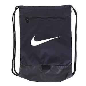 Sacola Nike Brsla Gmsk 9.0 - Preto e Branco