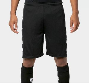 Calção de Futebol Kappa Long Masculino - Preto