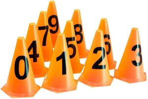 Kit Cones Numerados