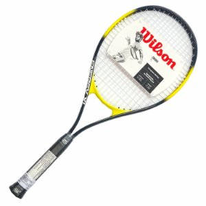 Raquete Tenis Wilson Energy Xl 2017 - Preto+Amarelo