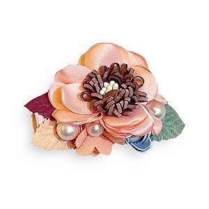 Presilha flor e botão