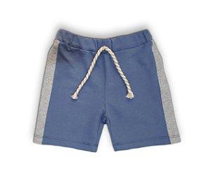 Shorts lateral colorida moletinho