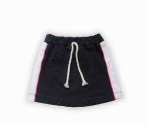 Mini saia recorte colorido