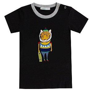 Camiseta infantil Tigrão skate