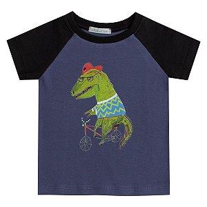Camiseta infantil haglan Dino bike