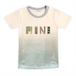 Camiseta tie dye ombrê mini